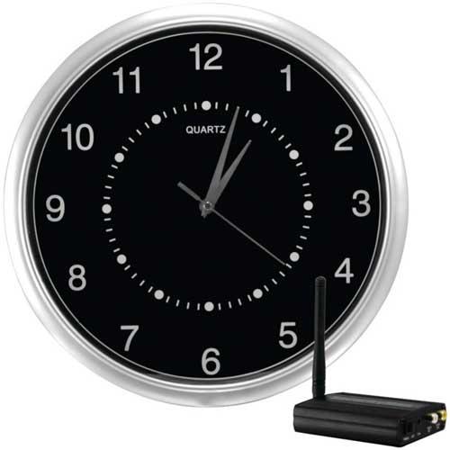 Buy Npc 1 2 Ghz Wall Clock Wireless Cctv Camera Online At