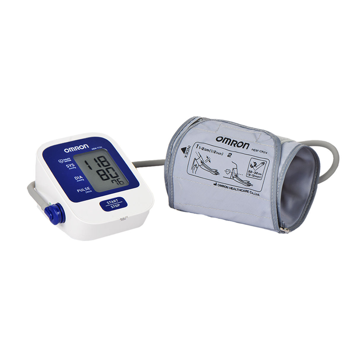 9548f83844f Buy Omron Automatic Blood Pressure Monitor Online at Best Price in India on  Naaptol.com