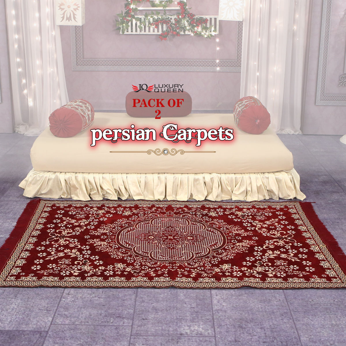 Hot deals store buy pack of 2 persian carpets p2c4 for Living room ideas trackid sp 006