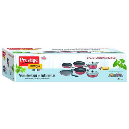 Buy Prestige Omega Deluxe Non Stick Cookware Kitchen In A