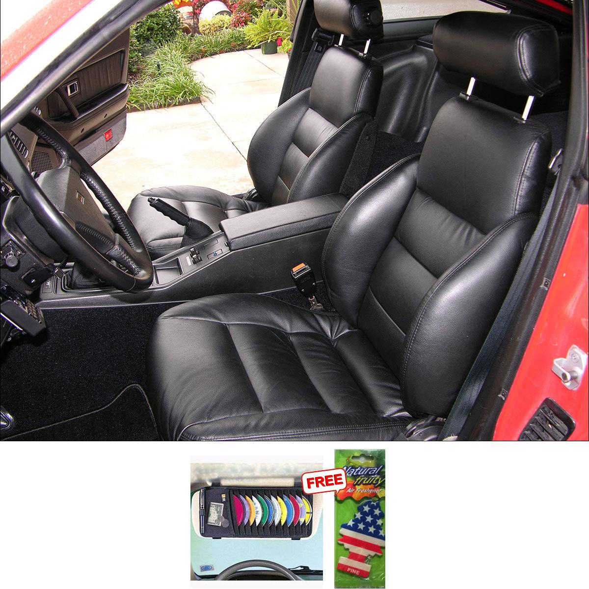 Samsun car seat cover for hyundai santro xing black