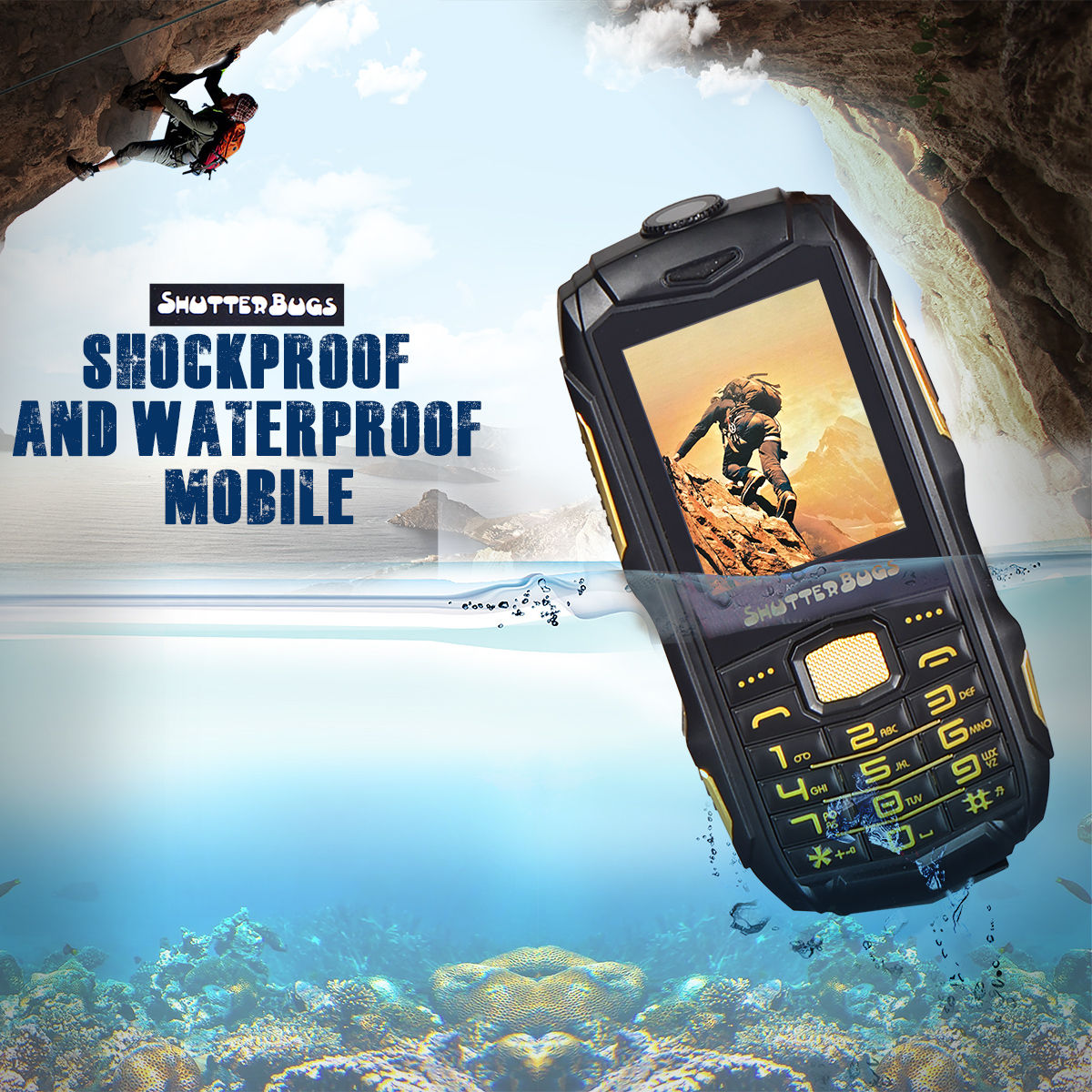 Buy Shockproof And Waterproof Mobile Online At Best Price
