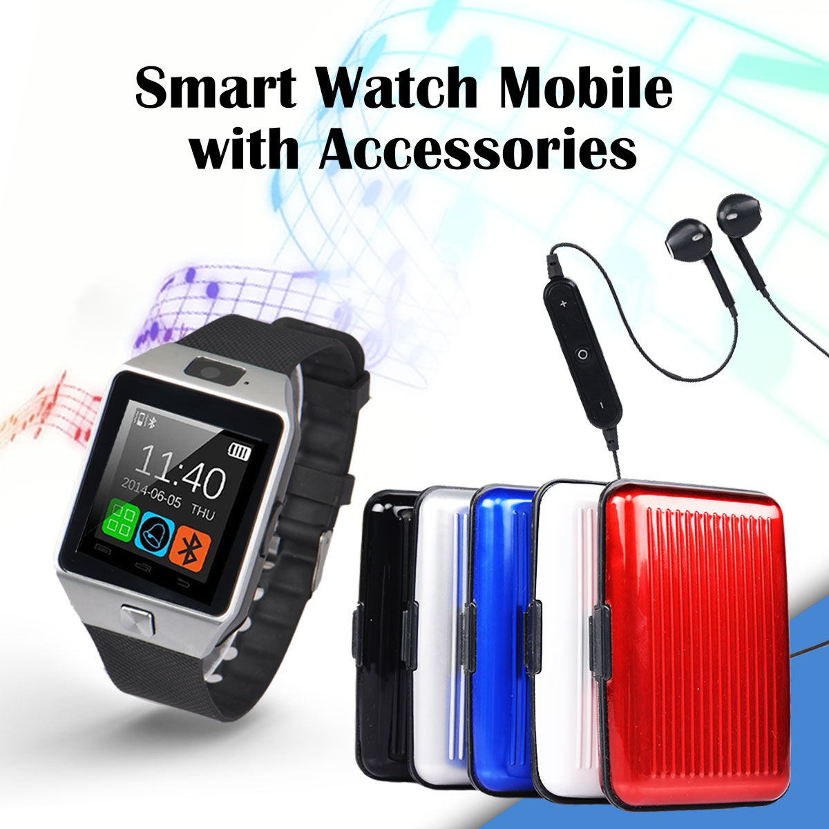 73db24365f7 Buy Smart Watch Mobile with Accessories Online at Best Price in India on  Naaptol.com