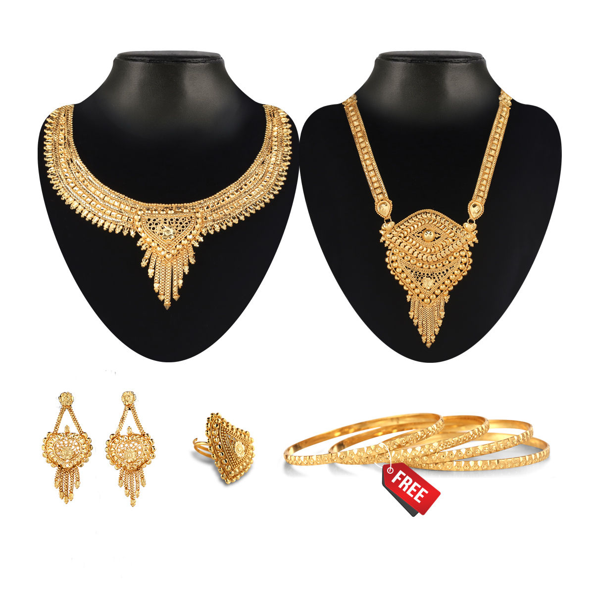 2ce86e49c Buy Sumangali Gold Jewellery Collection Online at Best Price in India on  Naaptol.com