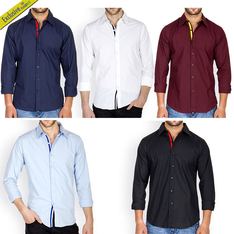 buy pack of 5 incynk smart casual shirts online at best