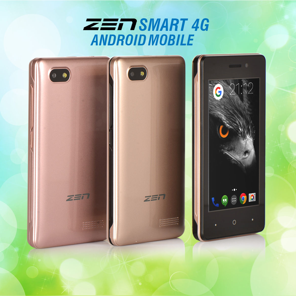 buy zen smart 4g android mobile online at best price in india on. Black Bedroom Furniture Sets. Home Design Ideas