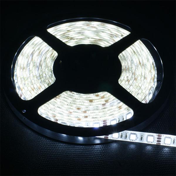 buy cuttable led strip light for car home 5mtr white. Black Bedroom Furniture Sets. Home Design Ideas