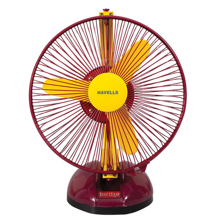 Buy Havells Birdie 225 Mm Cabin Fan Yellow Amp Mahroon