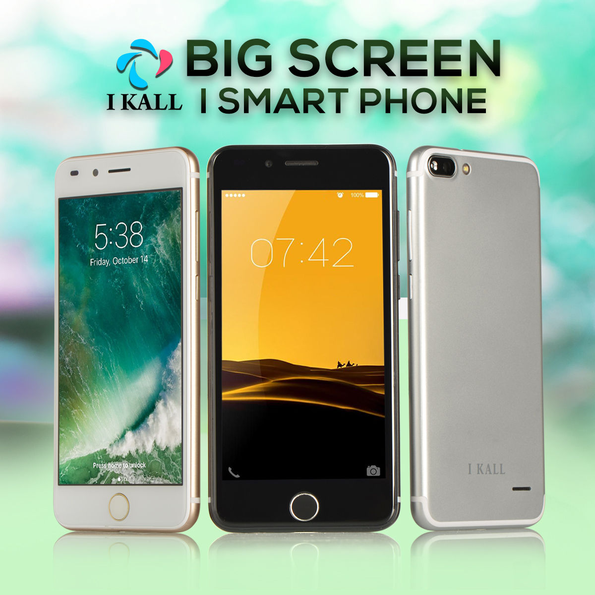Buy I Kall Big Screen I Smart Phone Online at Best Price in India on  Naaptol.com 282e48f98666