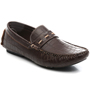 Bacca bucci Faux Leather Loafers - Brown-3707