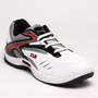 Columbus PU Sports Shoes - White & Red-2385