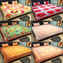 Set of 6 Jaipuri Print 100% Cotton Double Bedsheets with 12 pillow covers-Mancom-2