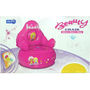 Inflatable Pink Beauty Chair For Baby Girls