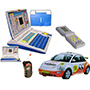 Combo Of Kids English Learning Laptop + Wireless R/C Car + 9999 in 1 Fun Brick Game