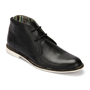 Delize Leather Boots - Black-3090