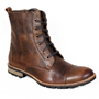 Delize Leather Boots - Brown-1857
