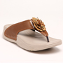 Do Bhai PU Sandals - Brown-5618