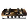 Sunblaze Four Burner- CORAL CURVE - copper Cooktop LE-S411
