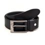 Porcupine Pure Leather Belt - Black_GRJBELT2-2