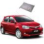 Galaxy Car Body Cover Toyota Etios Liva - Silver