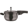 Vinod Kraft 3.5 Ltr Induction Friendly Hard Anodised Pressure Cooker - Black