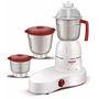Maharaja Whiteline Perfect Mixer Grinder - White & Red