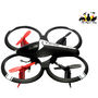 The Flyers Bay Mini Drone Quadcopter 2.0 with Blade Protection, LED Lights (Hoten-X)