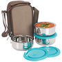 NanoNine Insulated Junior Lunch Box 3 Pcs SS070