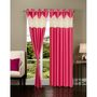 Set of 2 IWS Designer Door Curtain -Multicolor- IWS-CT-94