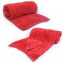 Set of 2 Little India Designer Printed Single AC Bed Blankets -Red- DLI4SBK1062