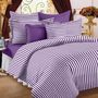 Storyatome Designer 2 Single Bedsheet With 2 Pillow Covers-Purple