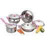 Klassic Vimal 7 Pcs Royal Induction Set - Silver