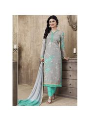 Viva N Diva Emroidered Unstiched  Dress Material_11287-Shruti