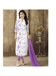 Viva N Diva Emroidered Unstiched  Dress Material_11290-Shruti