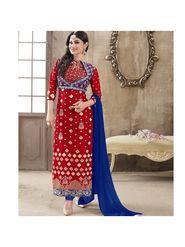 Viva N Diva Emroidered Unstiched  Dress Material_11293-Shruti