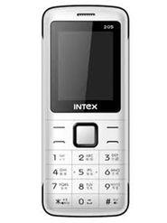 Intex Eco 205 Dual Sim - White & Black