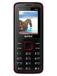 Intex Eco 205 Dual Sim - Black & Red