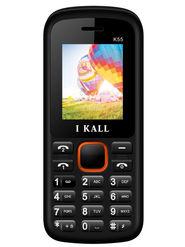 I Kall K55 Dual Sim Mobile - Black & Orange