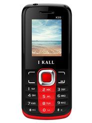 I Kall K99 Dual Sim Mobile - Red & Black