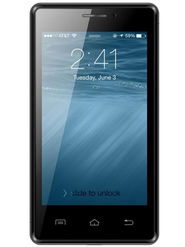 Karbonn A81 Android KitKat 3G Smartphone (RAM:512MB ROM:4GB) - Black & Grey