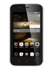 Karbonn Alfa A112 Android (KitKat) Dual Sim Smartphone - Black & Champ