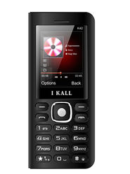 I Kall K42 8000 mAh Powerbank Phone ( Black)