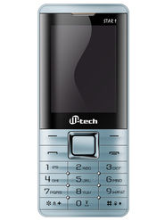 Mtech STAR 1 Dual Sim Feature Phone - Blue