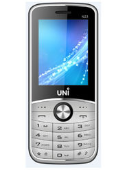UNI New N23 New Dual SIM Mobile Phone - Silver