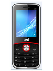 UNI New N23 New Dual SIM Mobile Phone - Black