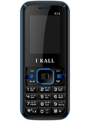 I Kall K14 Dual Sim Mobile Phone - Blue