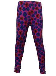 Pack of 2 Little Star Girl's Multicolor Leggings - RL_3215