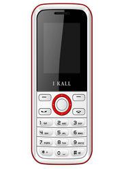 I Kall K18 Dual SIM Mobile Phone (White Red)