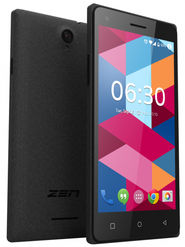 ZEN Cinemax 2+ Lollipop (RAM : 1GB : ROM : 8GB) 3G Smart Phone (Black)