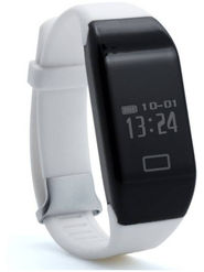 XCCESS SB366 Purple Smart watch  (White Strap)